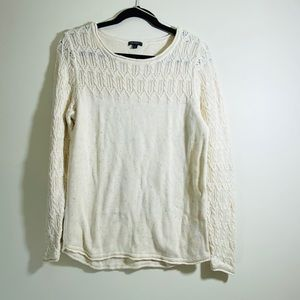 Hannah Confetti Cable Knit Sweater - #47